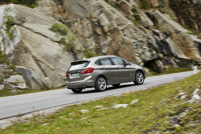 DRIVEN: F45 BMW 2 Series Active Tourer in Austria Image #328751