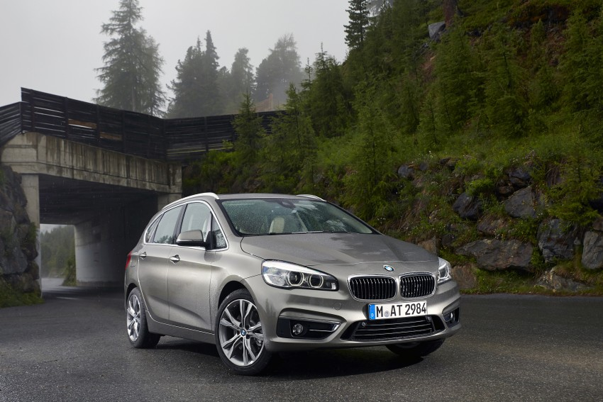 DRIVEN: F45 BMW 2 Series Active Tourer in Austria Image #328755