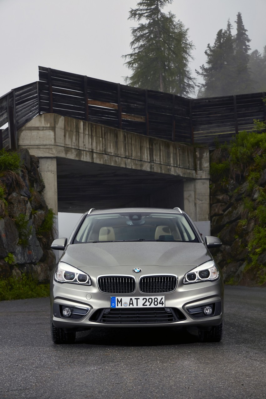 DRIVEN: F45 BMW 2 Series Active Tourer in Austria Image #328757