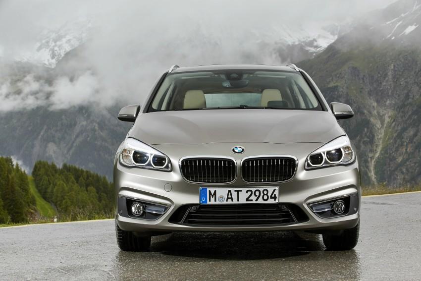 DRIVEN: F45 BMW 2 Series Active Tourer in Austria Image #328765