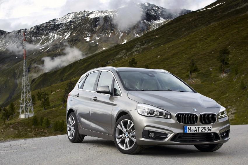 DRIVEN: F45 BMW 2 Series Active Tourer in Austria Image #328769