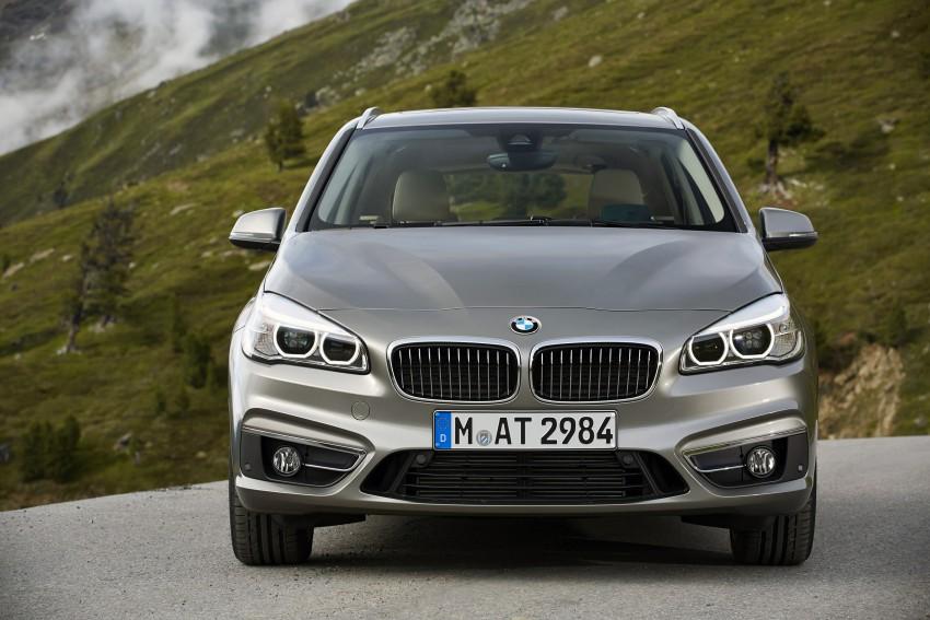 DRIVEN: F45 BMW 2 Series Active Tourer in Austria Image #328770