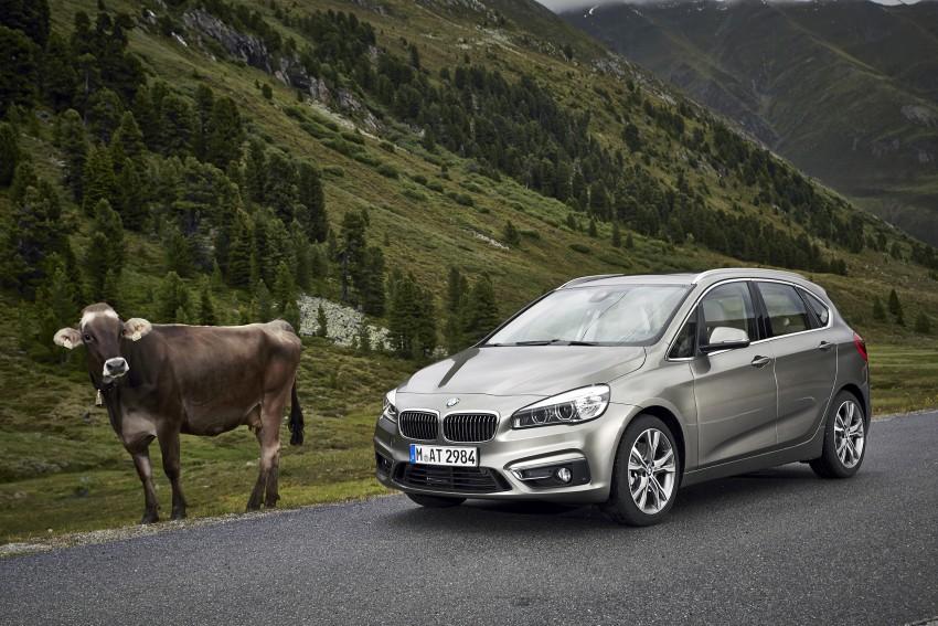 DRIVEN: F45 BMW 2 Series Active Tourer in Austria Image #328782