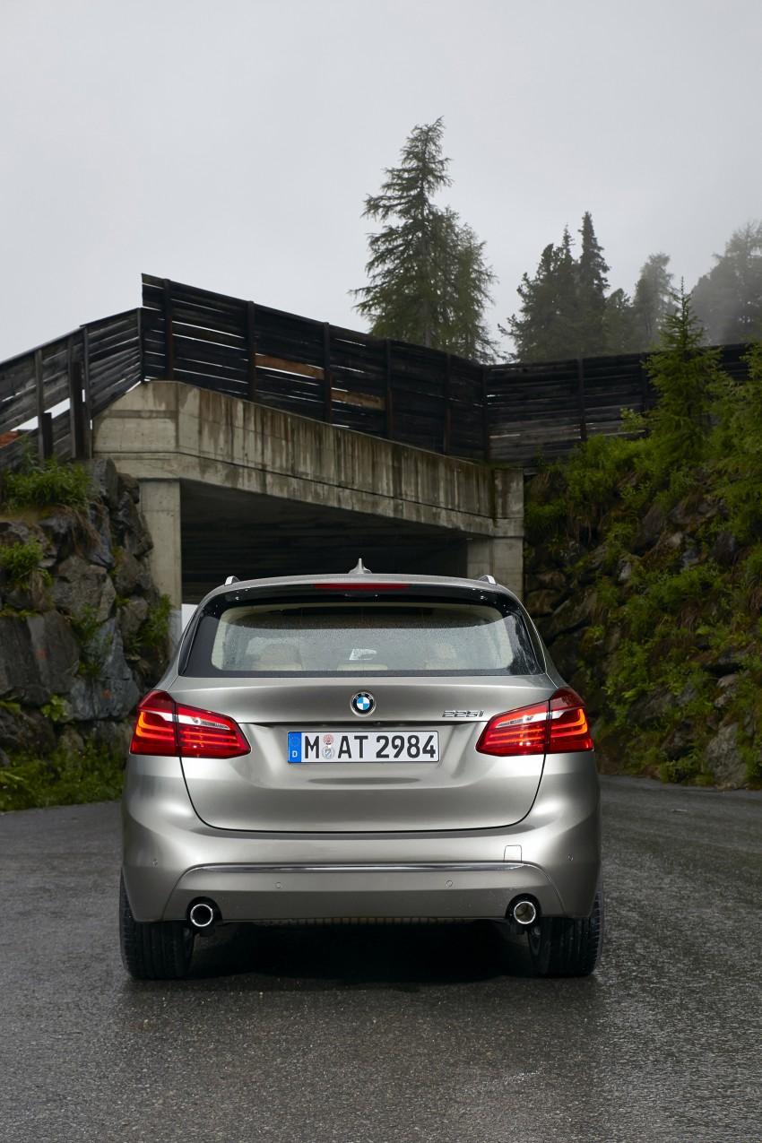 DRIVEN: F45 BMW 2 Series Active Tourer in Austria Image #328788