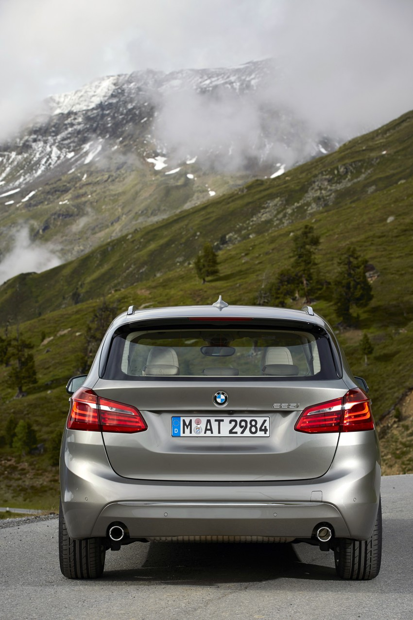 DRIVEN: F45 BMW 2 Series Active Tourer in Austria Image #328806
