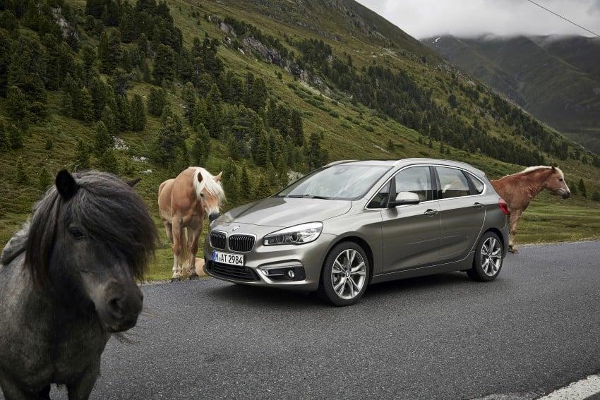 DRIVEN: F45 BMW 2 Series Active Tourer in Austria Image #328807