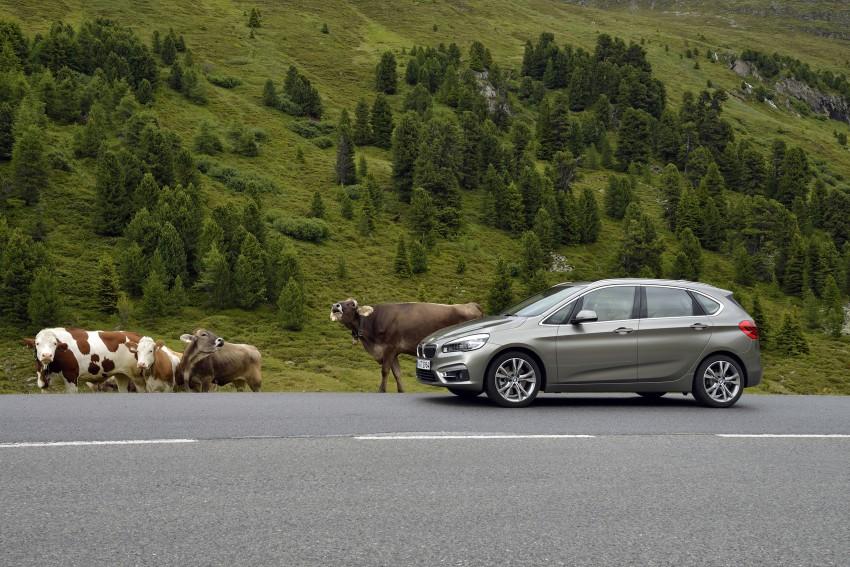 DRIVEN: F45 BMW 2 Series Active Tourer in Austria Image #328809