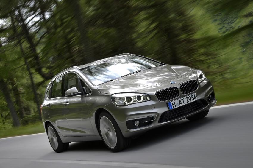 DRIVEN: F45 BMW 2 Series Active Tourer in Austria Image #328697