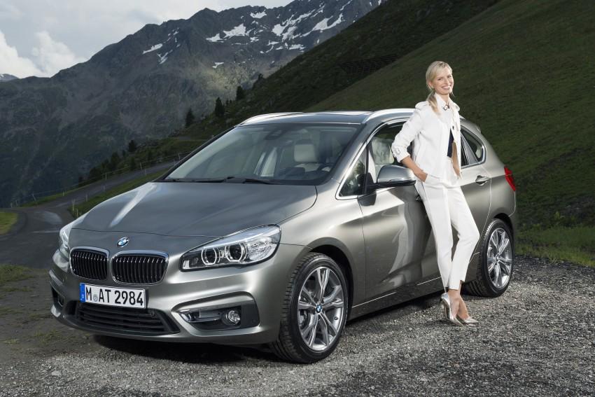 DRIVEN: F45 BMW 2 Series Active Tourer in Austria Image #328814