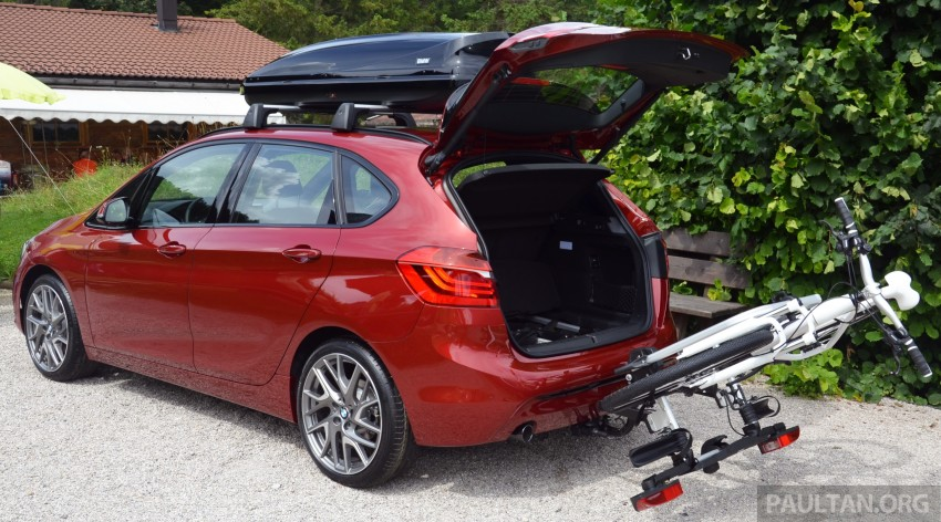 DRIVEN: F45 BMW 2 Series Active Tourer in Austria Image #328419
