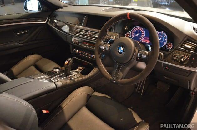 BMW M Performance Parts showcased
