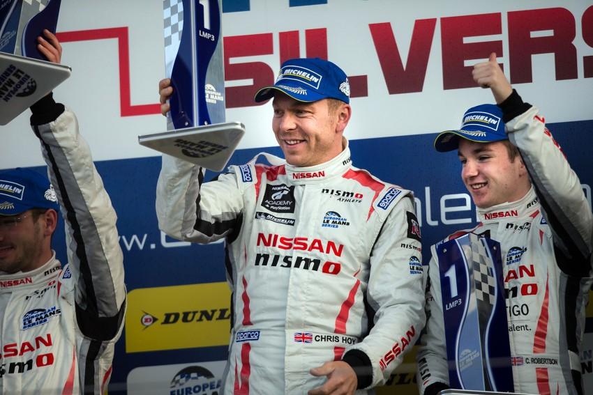 Cycling great Chris Hoy wins car race at Silverstone Image #327313