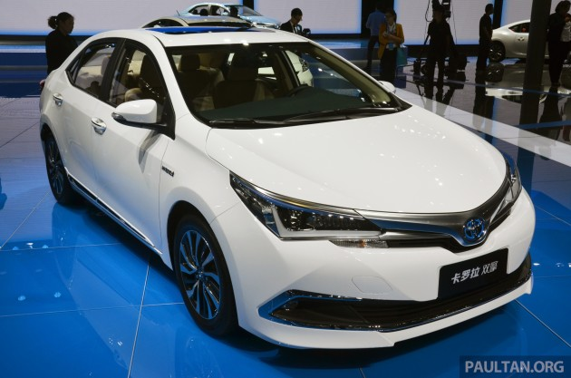 Toyota Corolla, Levin plug-in hybrids in China by 2018