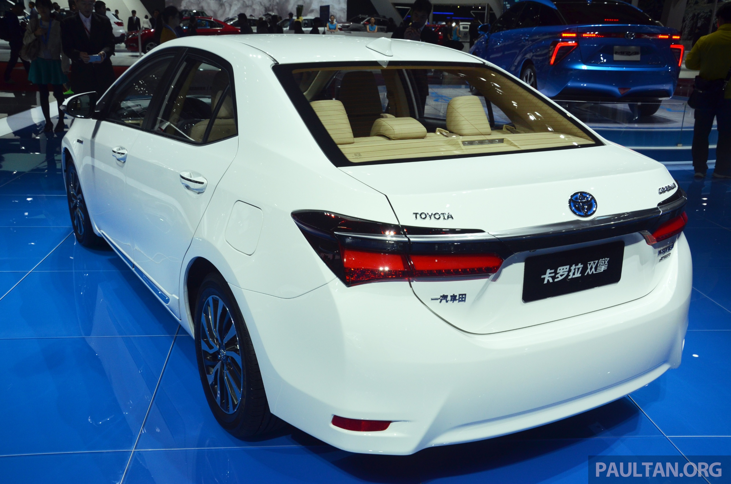 Shanghai 2015: Toyota Corolla Hybrid/Levin HEV debut Image
