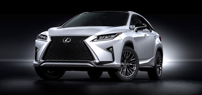 Lexus RX 450h and RX 350 F Sport debut at NYIAS Image #330902