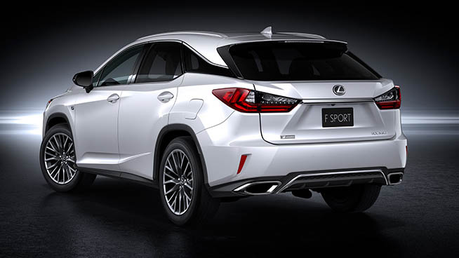 Lexus RX 450h and RX 350 F Sport debut at NYIAS Image #330899