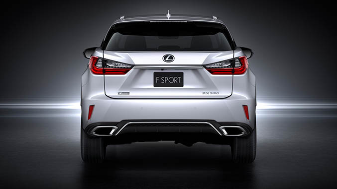 Lexus RX 450h and RX 350 F Sport debut at NYIAS Image #330898