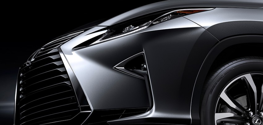 Lexus RX 450h and RX 350 F Sport debut at NYIAS Image #330901