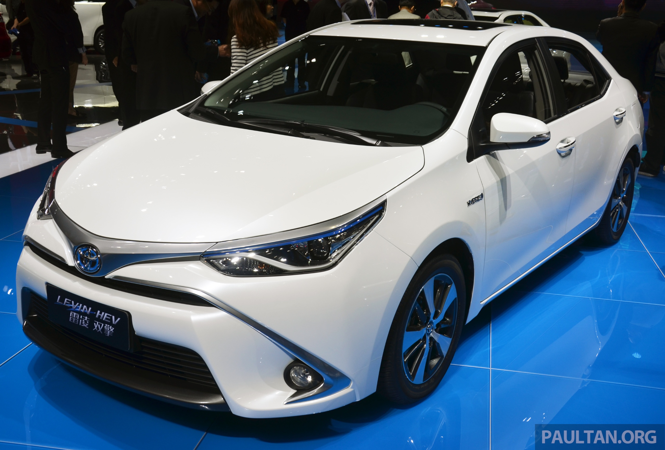 Toyota Corolla Levin Plug In Hybrids In China By 2018