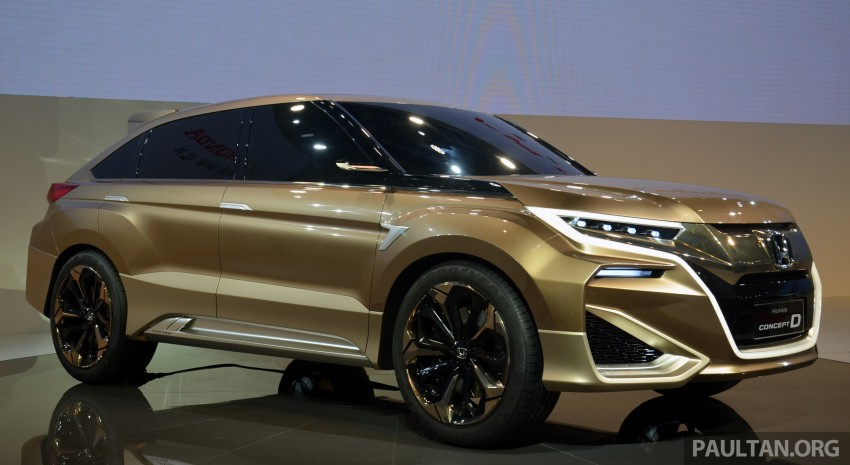 Shanghai 2015: Honda Concept D previews new SUV Image #330310