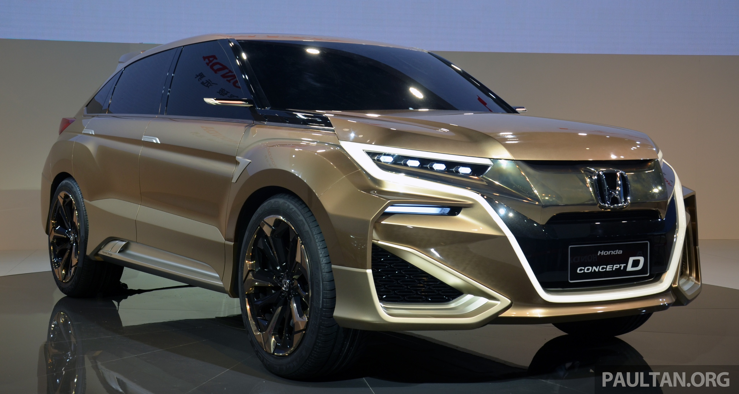 Shanghai 2015 Honda Concept D Previews New Suv