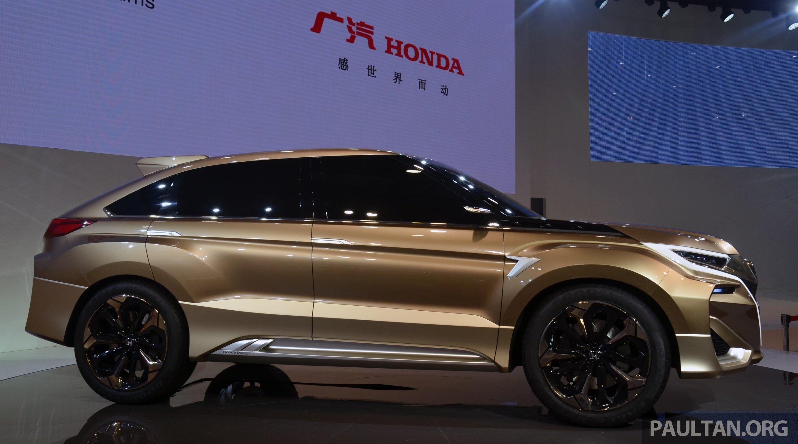 Shanghai 2015: Honda Concept D previews new SUV Image 330316