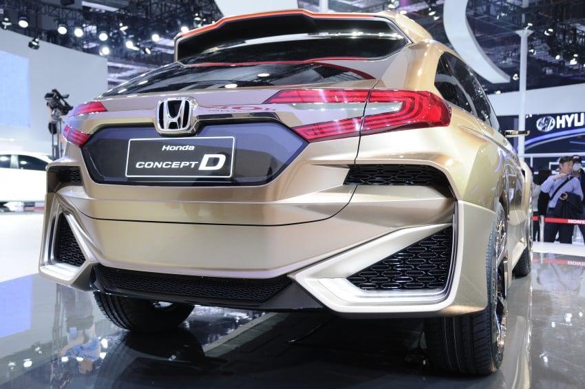 Shanghai 2015: Honda Concept D previews new SUV Image #332660