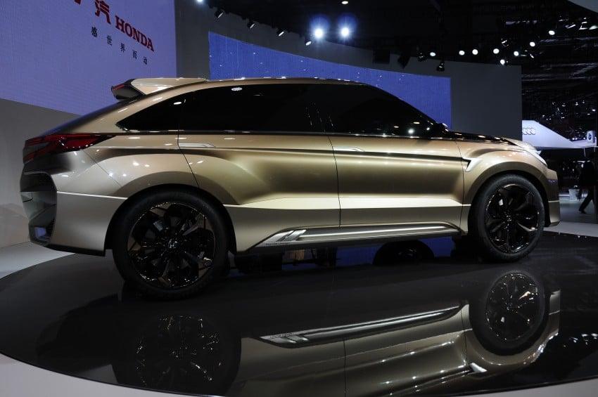 Shanghai 2015: Honda Concept D previews new SUV Image #332661