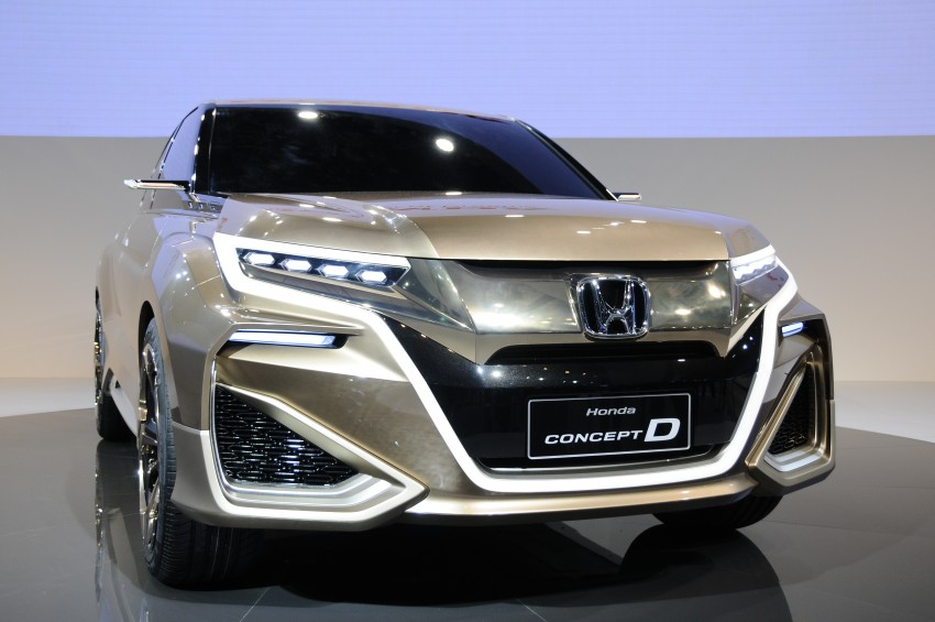Shanghai 2015: Honda Concept D previews new SUV Image #332663