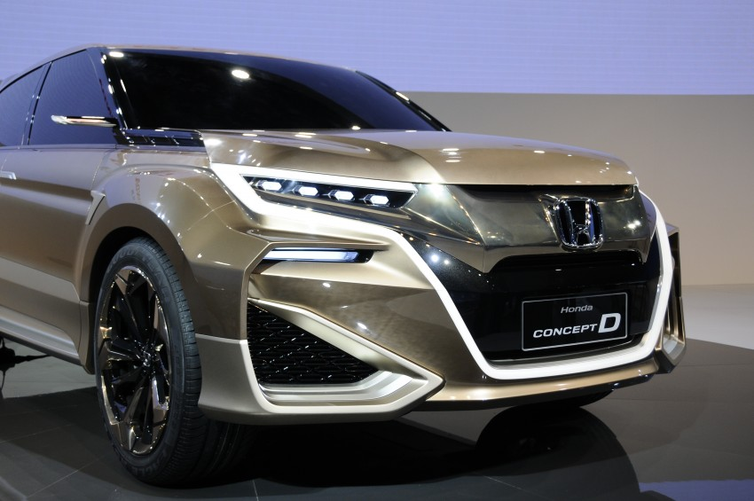 Shanghai 2015: Honda Concept D previews new SUV Image #332664