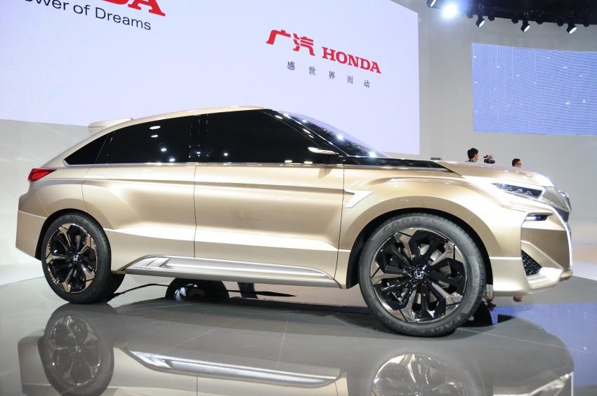 Shanghai 2015: Honda Concept D previews new SUV Image #332666