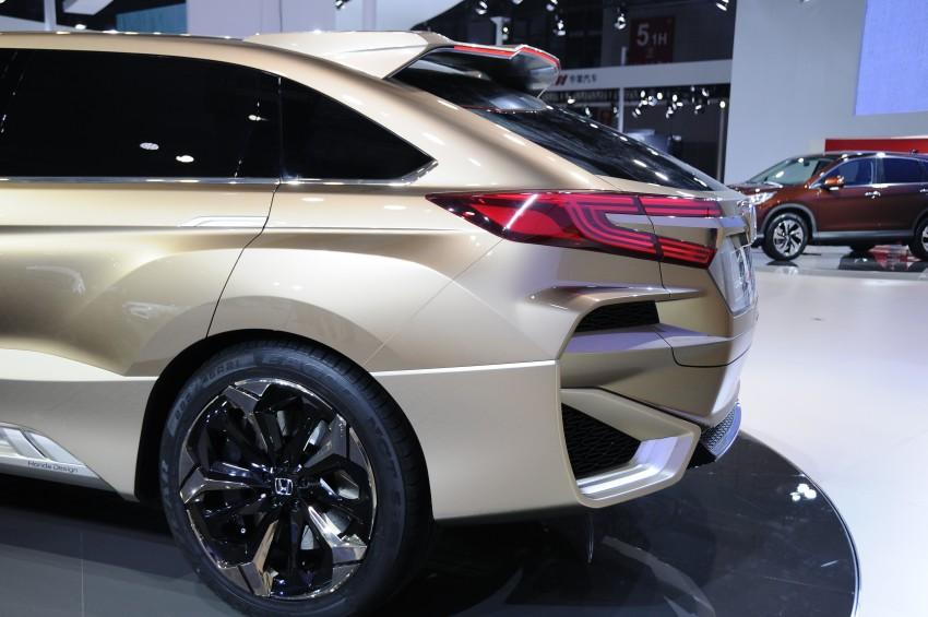 Shanghai 2015: Honda Concept D previews new SUV Image #332668