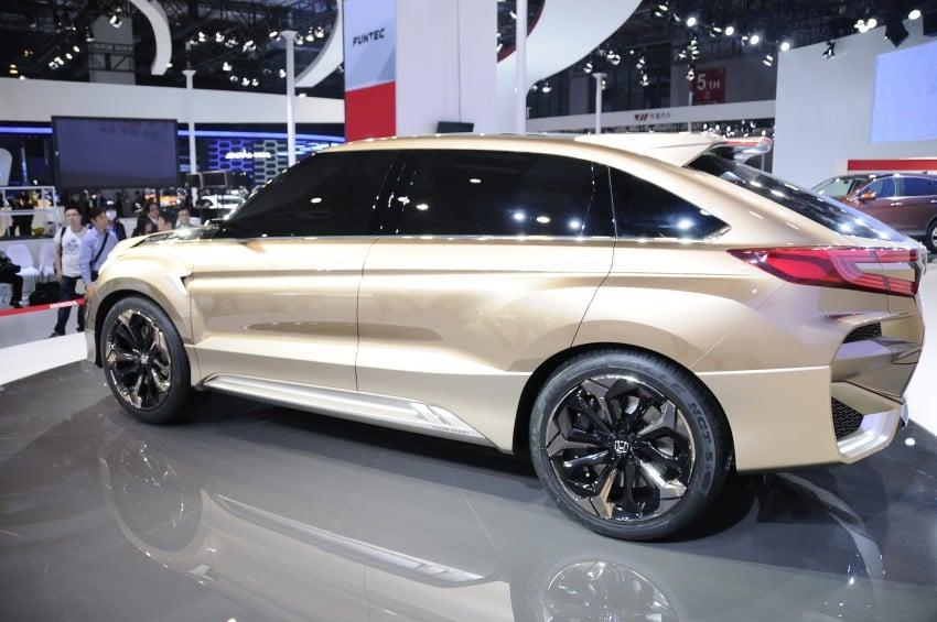 Shanghai 2015: Honda Concept D previews new SUV Image #332669