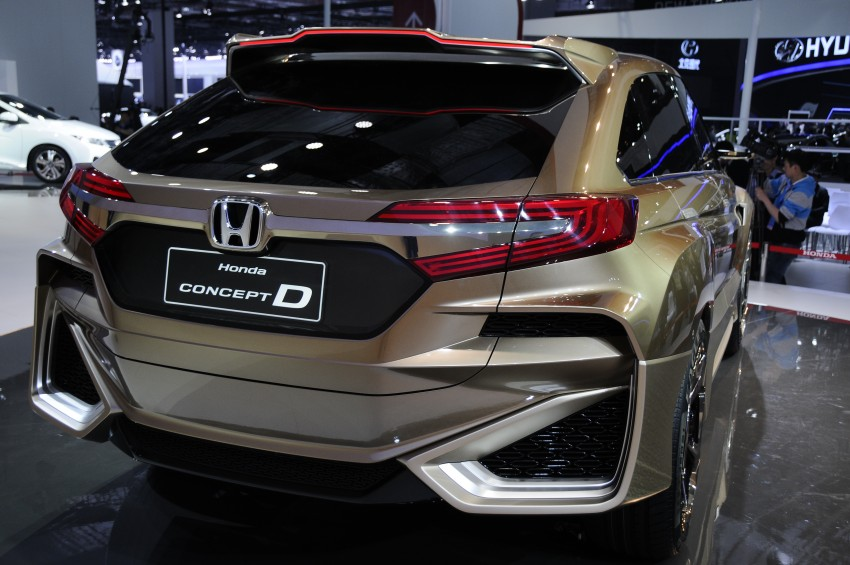 Shanghai 2015: Honda Concept D previews new SUV Image #332670
