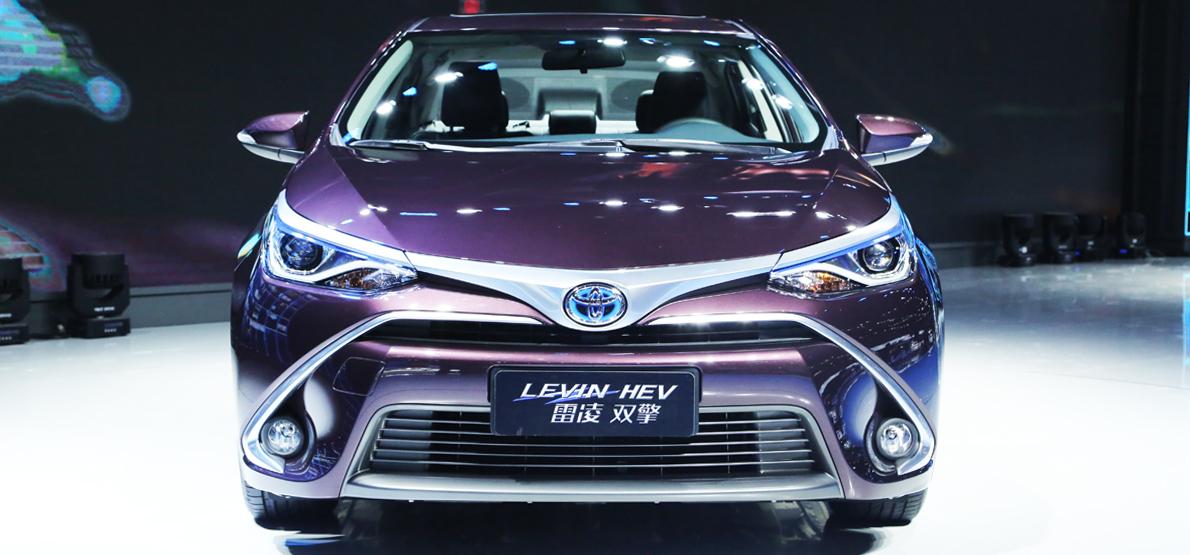 Back to Story: Shanghai 2015: Toyota Corolla Hybrid/Levin HEV debut