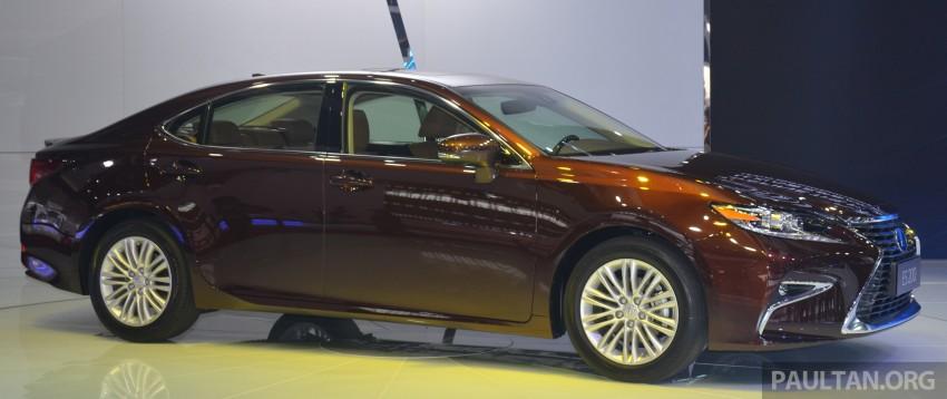 Shanghai 2015: Lexus ES facelift unveiled, new 2.0 mill Image #330384