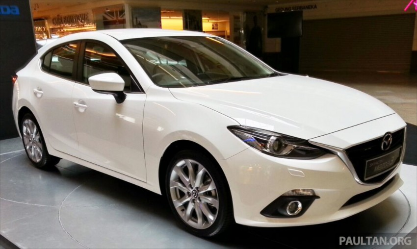Mazda 3 CKD launched in Malaysia, RM106k-121k Image #326187