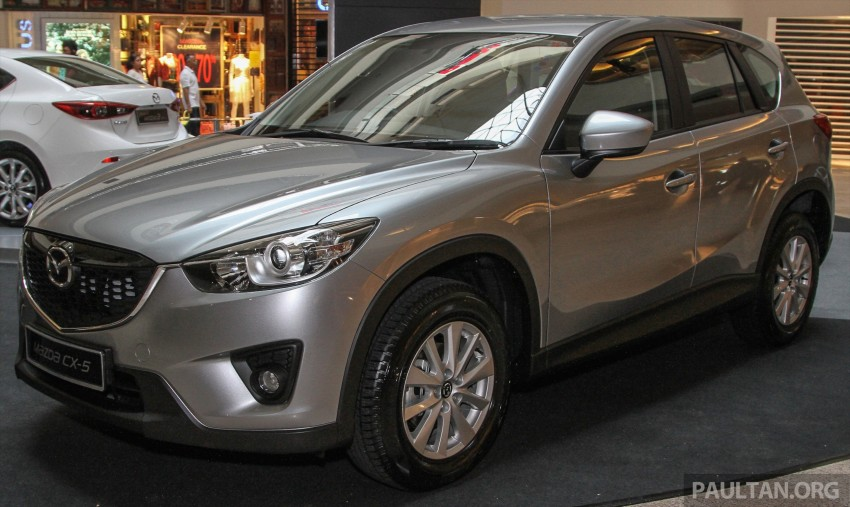 Mazda CX-5 GL launched, new base variant at RM126k Image #326471