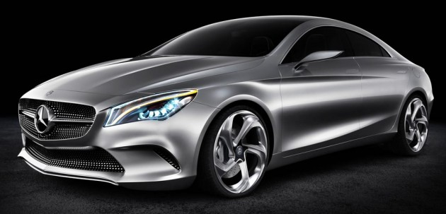 MercedesBenz Targets Audi TT BMW Series With New Coupe - Audi new series