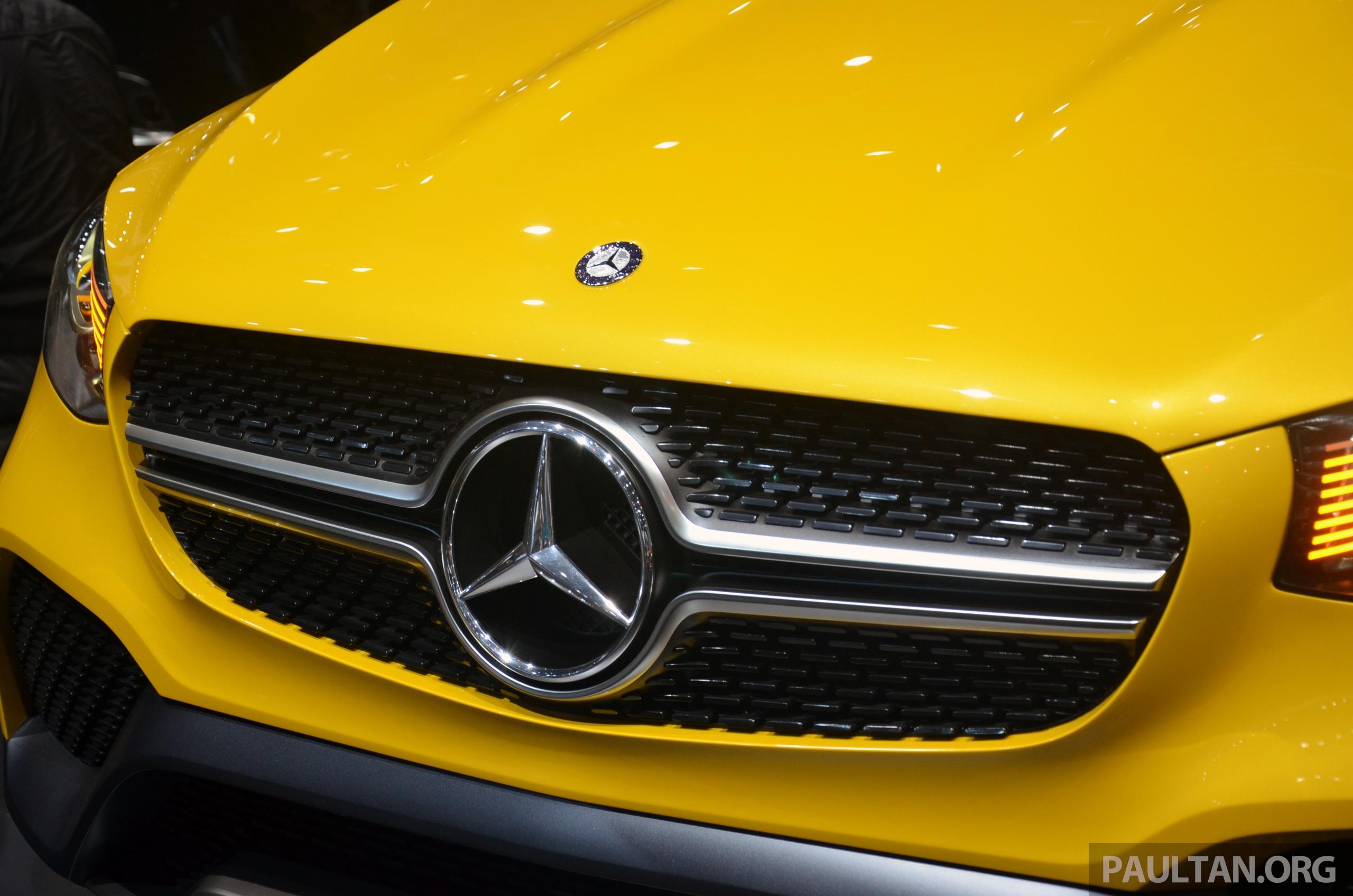 Shanghai 2015 Mercedes Benz Concept Glc Coupe Paul Tan