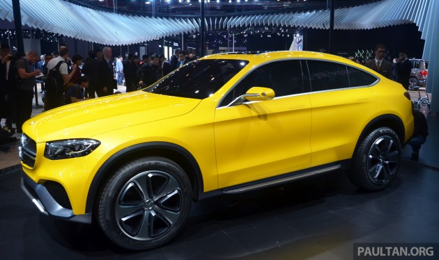 mercedes-benz glc coupe given the go-ahead for production