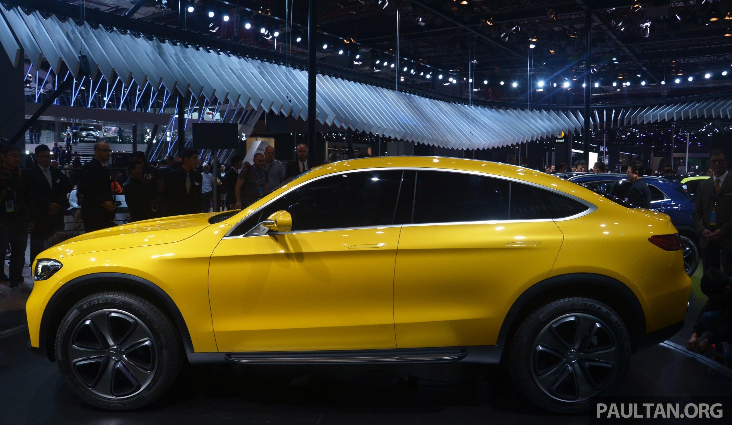 Shanghai 2015: Mercedes-Benz Concept GLC Coupe Image 330536
