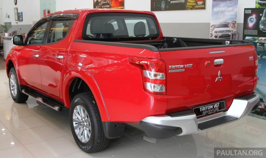 GALLERY: 2015 Mitsubishi Triton VGT in showroom! Image #334511