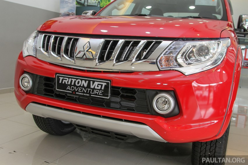 GALLERY: 2015 Mitsubishi Triton VGT in showroom! Image #334526