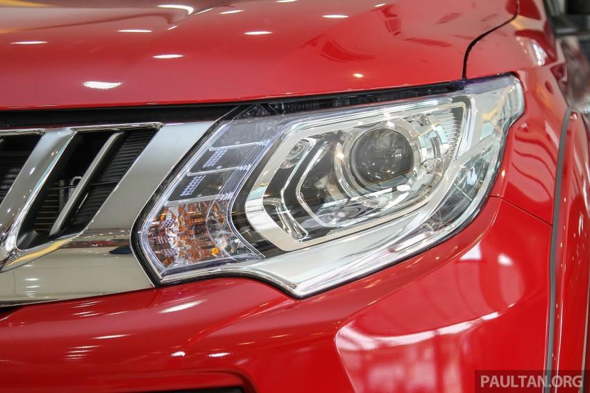 GALLERY: 2015 Mitsubishi Triton VGT in showroom! Image #334527