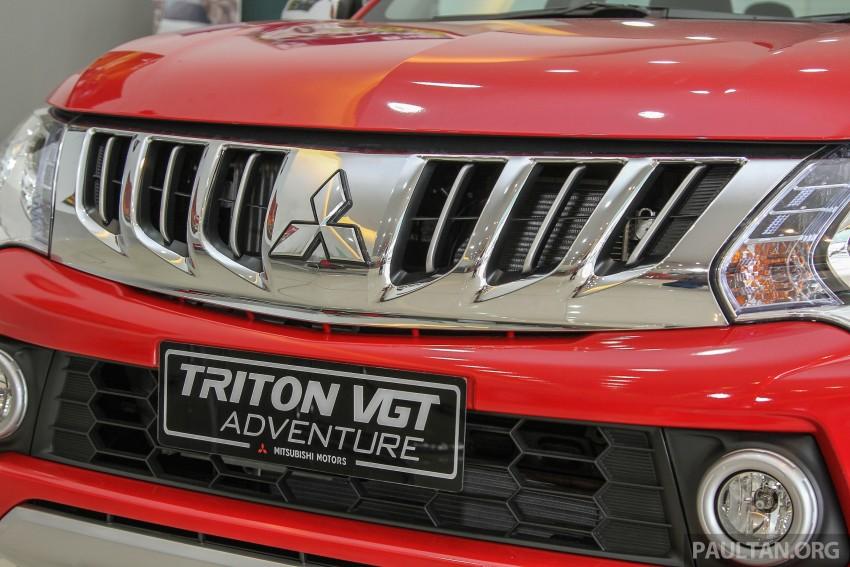 GALLERY: 2015 Mitsubishi Triton VGT in showroom! Image #334528