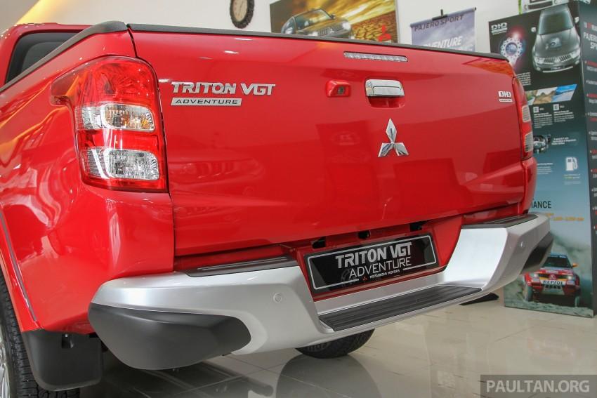 GALLERY: 2015 Mitsubishi Triton VGT in showroom! Image #334531