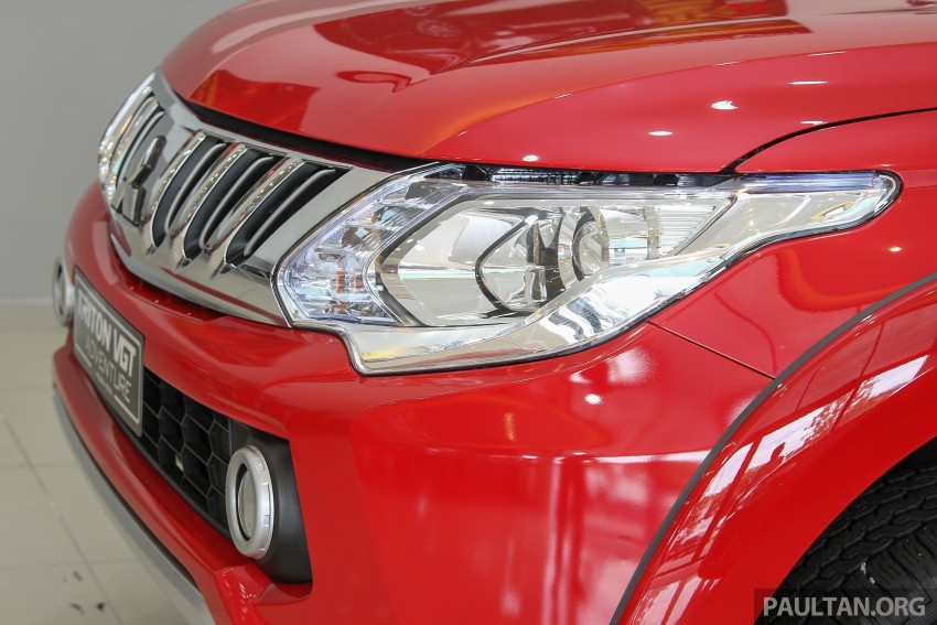 GALLERY: 2015 Mitsubishi Triton VGT in showroom! Image #334533