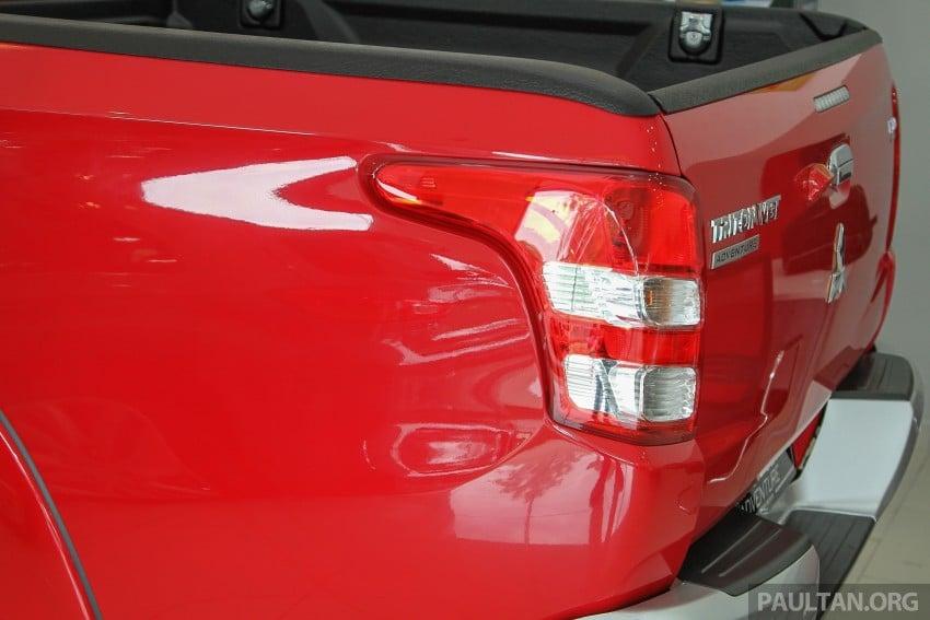 GALLERY: 2015 Mitsubishi Triton VGT in showroom! Image #334537