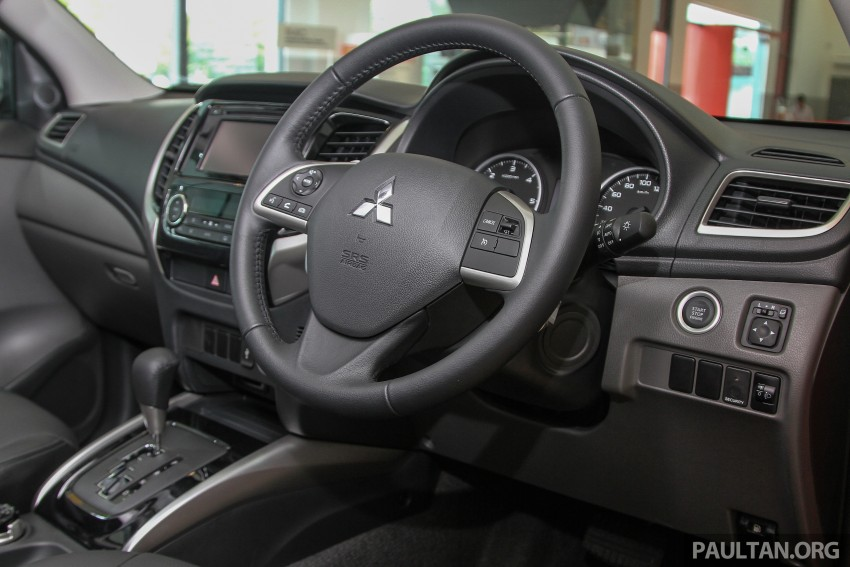 GALLERY: 2015 Mitsubishi Triton VGT in showroom! Image #334561